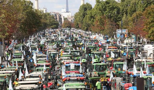 Manif-agriculteurs
