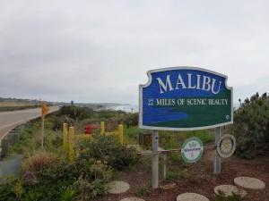 la Plage de Malibu